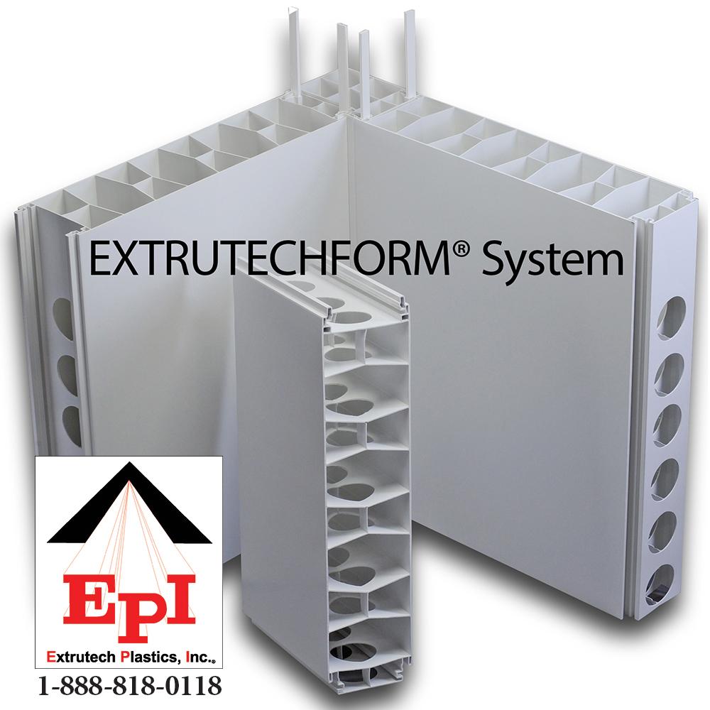 Item P624 Extrutech 6 Quot Thick Concrete Form Panel On