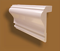Wainscoting or Wall Panel Chair Rail Trim