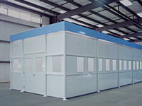 Clean Rooms, Equipment Enclosure Modules
