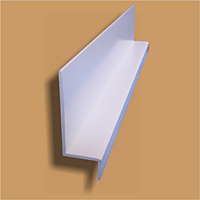 P0260 Polyvinyl Chloride (PVC) Wall Panel Floor Drip Edge Trim
