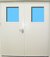 All Weather Double Doors