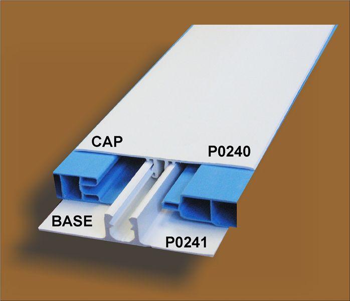 Befestigung clip push-type Trim 2/pz nero