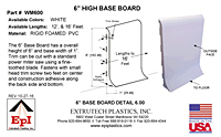 6 Inch Base Board Trim - 2
