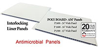 Extrutech POLY BOARD-AM Panels